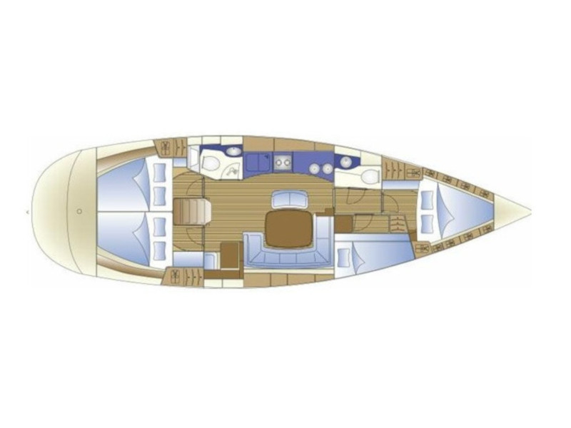 Bavaria 44 (Flipper I) Plan image - 8