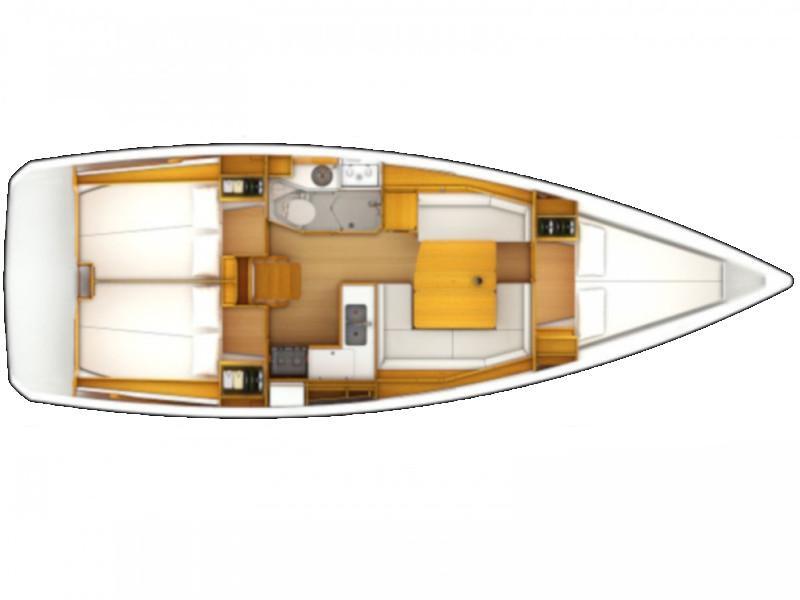 Sun Odyssey 40.3 (Laineilla) Plan image - 4