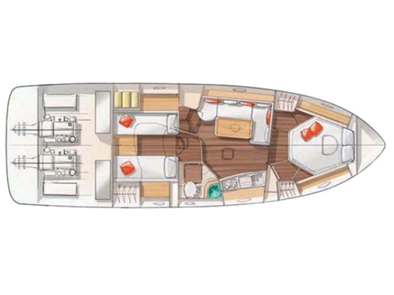 Monte Carlo 37 Hard Top (Leni Lu) Plan image - 6