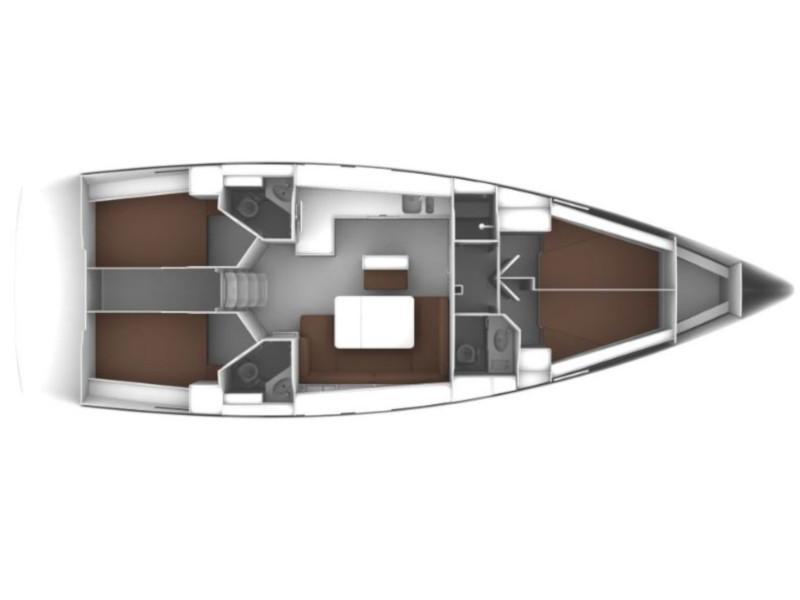 Bavaria Cruiser 46 (Rea) Plan image - 5