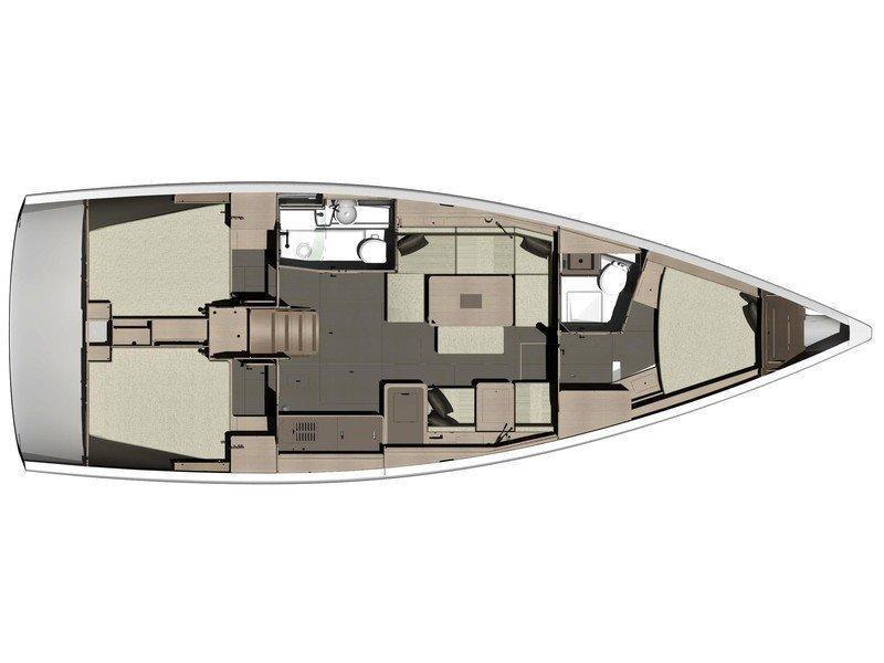 Dufour 410 GL (Jones) Plan image - 21