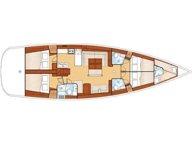 Oceanis 54 (O54-09) Plan image - 3