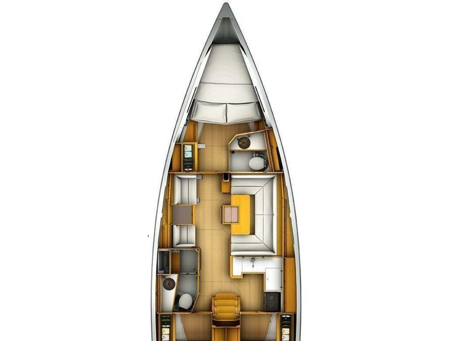 Sun Odyssey 419 (Kiss Kiss) Plan image - 13