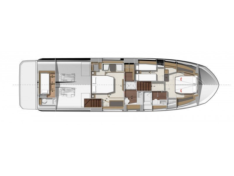 Prestige 590 Fly (B. GINGER) Plan image - 3