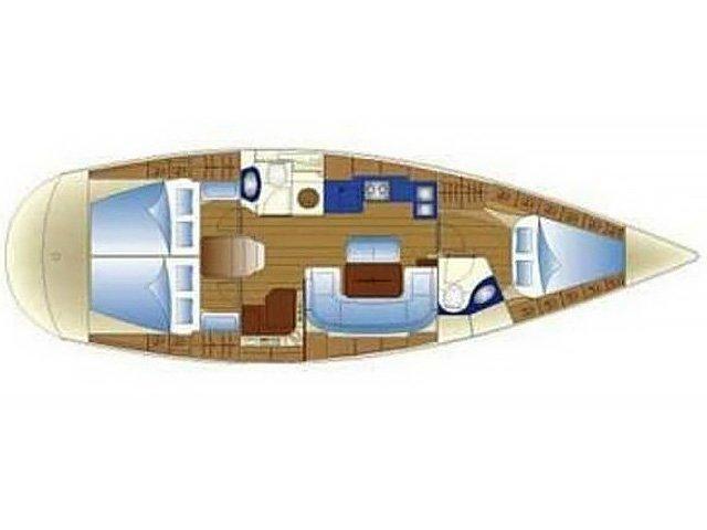 Bavaria 39 Cruiser (B39-07-L) Plan image - 2