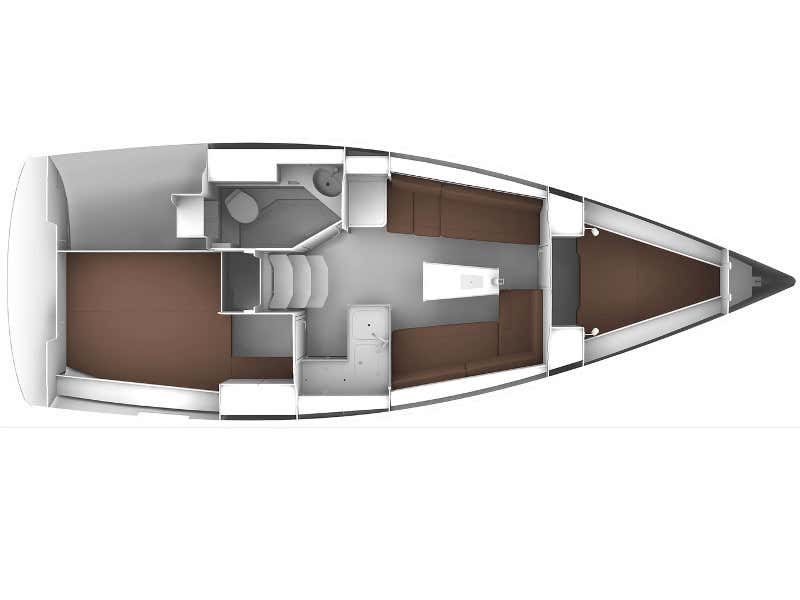 Bavaria Cruiser 34 Style (Aston) Plan image - 19