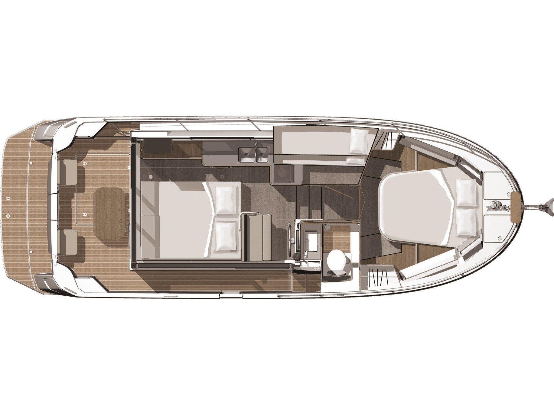 Beneteau Swift Trawler 30 (Odysseus) Plan image - 6
