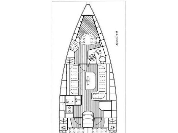 Bavaria 37 Cruiser (Mazzel) Plan image - 2