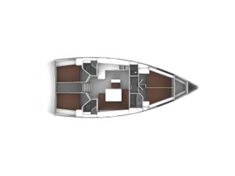 Bavaria Cruiser 46 (Tha) Plan image - 4
