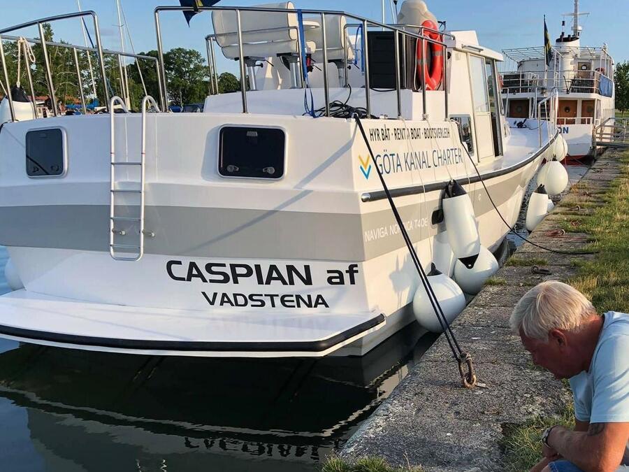 Naviga Nordica T 40 (Caspian af Vadstena)  - 7