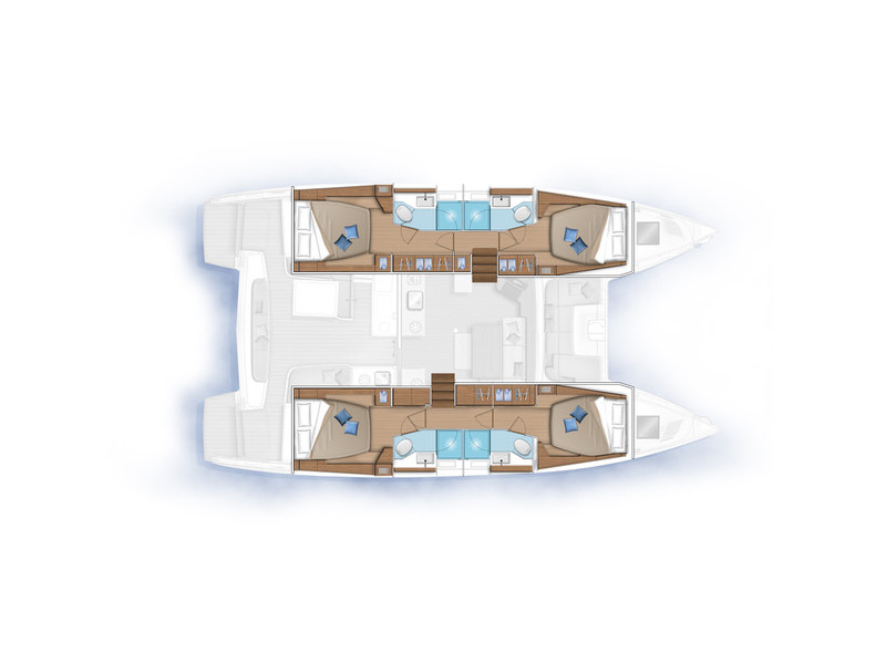 Lagoon 46 (BUTTERFLY) Plan image - 10