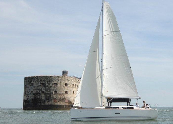 Dufour 335 GL (Kopernik) Sailing - 7