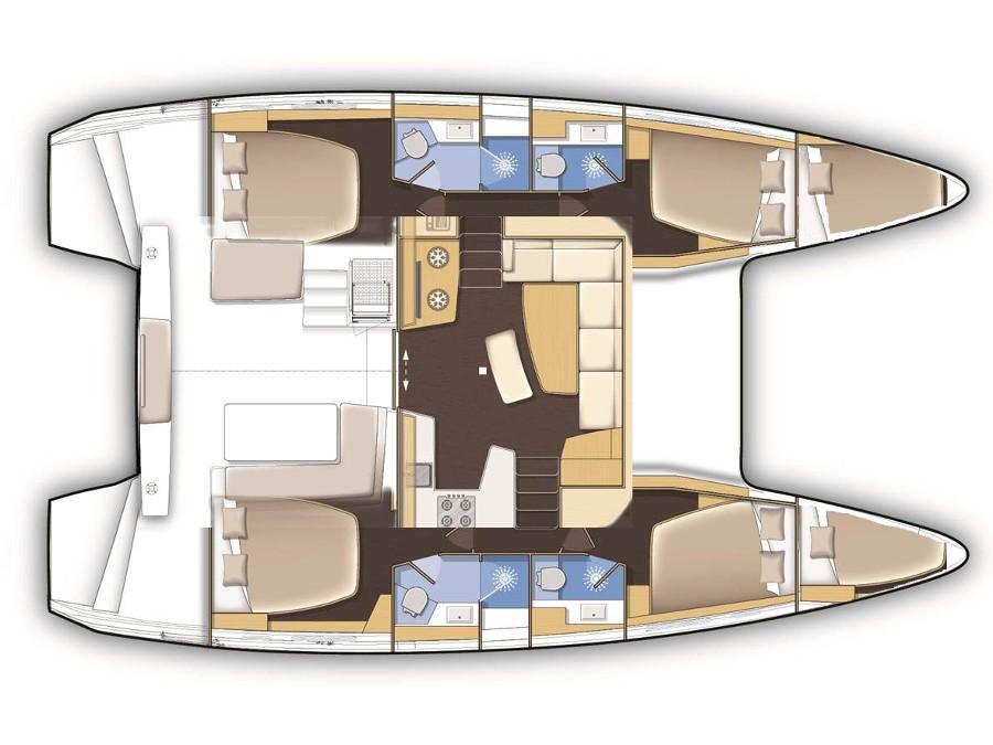 Lagoon 42 (GOA 6) Plan image - 13