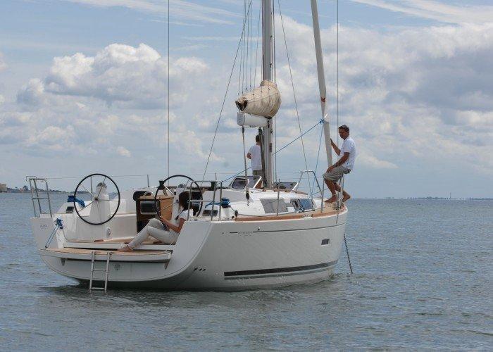 Dufour 335 GL (Kopernik) At Anchor - 14