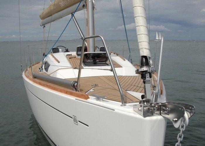 Dufour 335 GL (Kopernik) At Anchor - 1