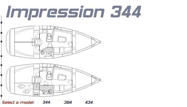 Elan 344 Impression (Rosa) Plan image - 5