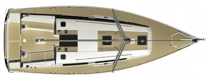 Dufour 335 GL (Kopernik) Deck Layout - 17