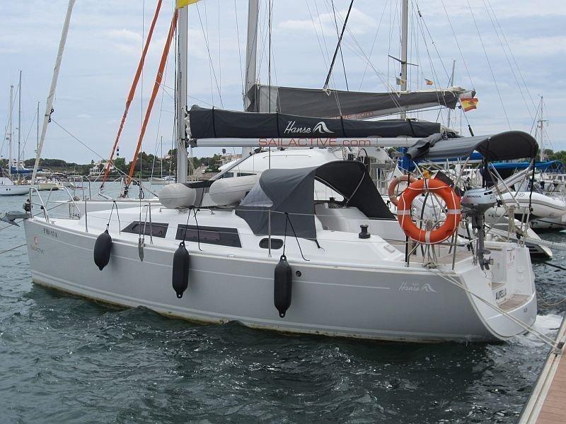 Hanse 325 (Aurelia)  - 8