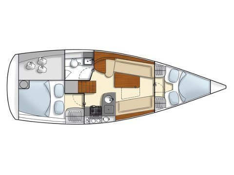 Hanse 325 (Aurelia) Plan image - 4