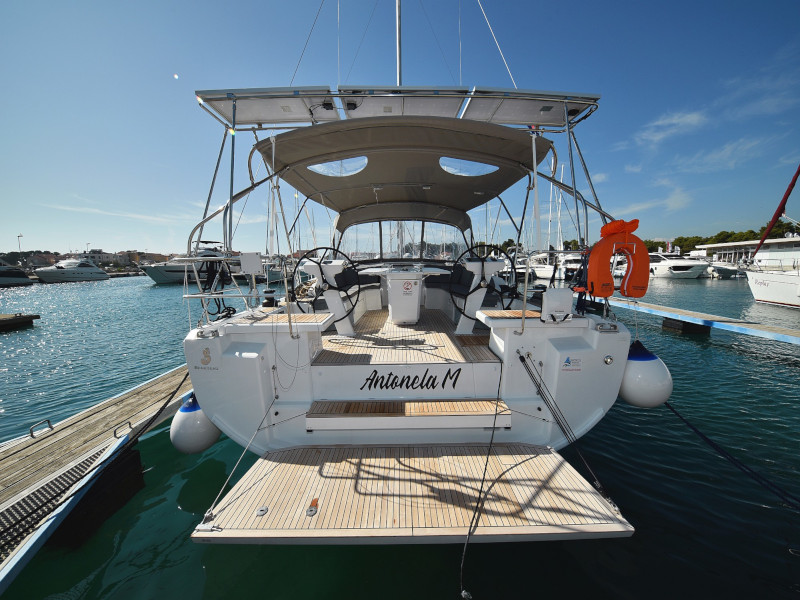 Oceanis 46.1 (Antonela M. with A/C and generator)  - 51