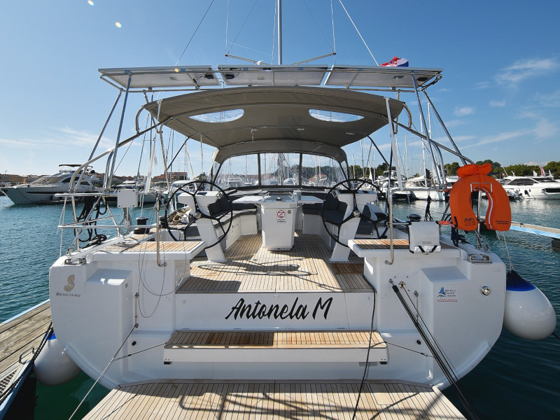Oceanis 46.1 (Antonela M. with A/C and generator)  - 65