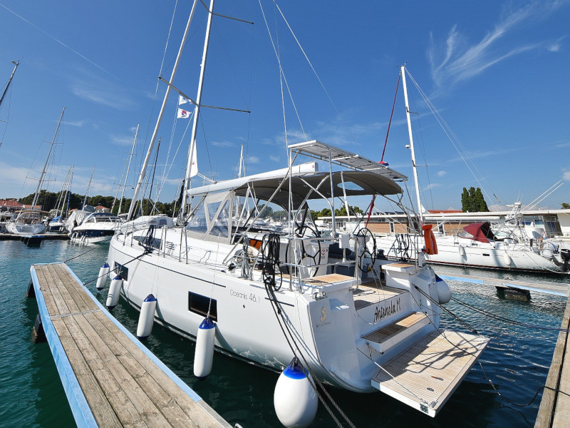 Oceanis 46.1 (Antonela M. with A/C and generator)  - 44