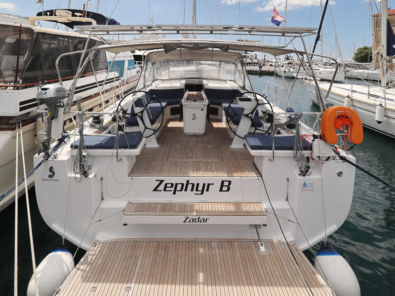 Oceanis 51.1 (Zephyr B with A/C and generator)  - 65
