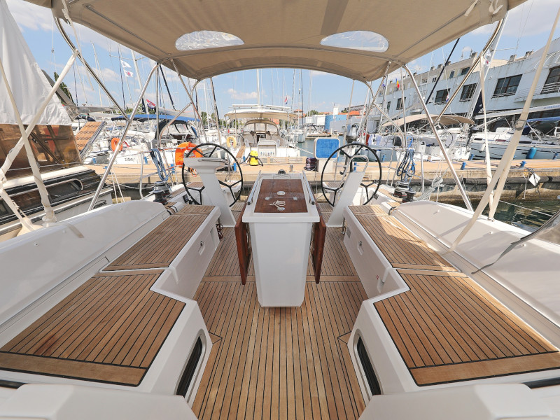 Oceanis 46.1 (Mr.White with A/C and generator)  - 54