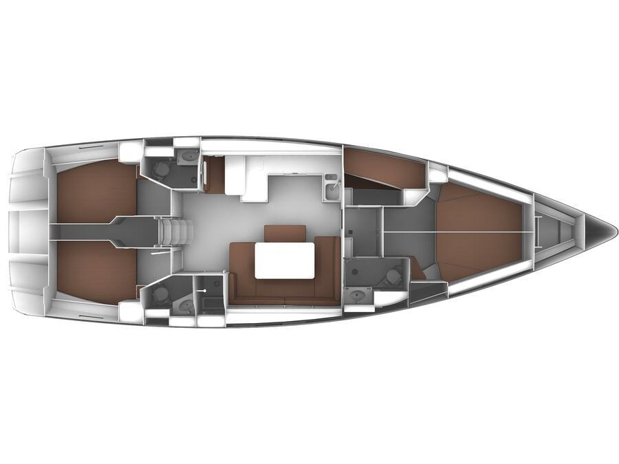 Bavaria Cruiser 51 (Alissa) Plan image - 12