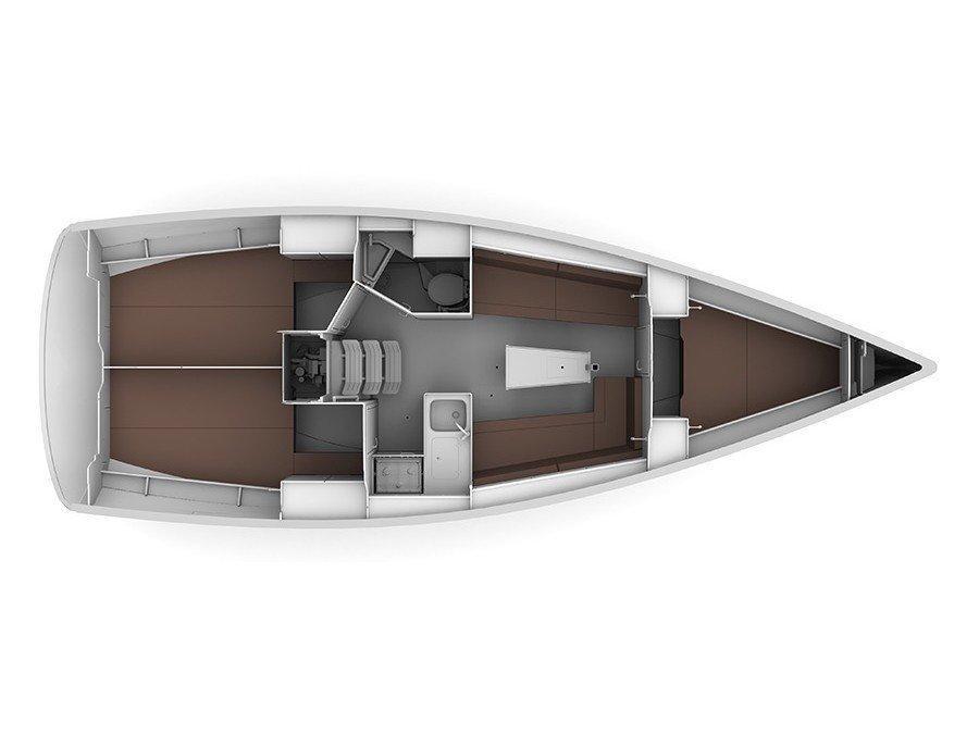 Bavaria Cruiser 34 (TALASSA) Plan image - 3