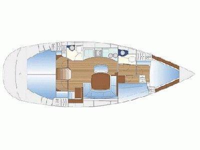 Bavaria 44 Cruiser  (Moneta ) Plan image - 3