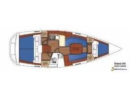 Oceanis 343 (PANORAMA) Plan image - 1