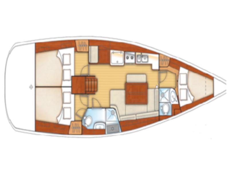 Oceanis 40 (Sail Alpha) Plan image - 5