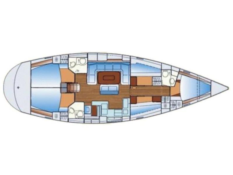 Bavaria 50 Cruiser (Sail Sirius) Plan image - 6