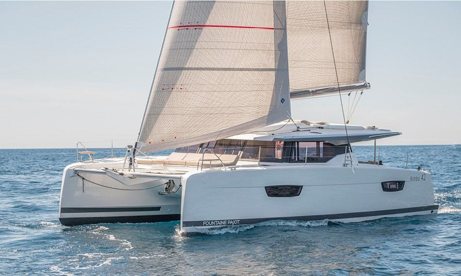 Astréa 42 (Sissy- A/C & Watermaker & Generator & Electrical Platform - 4+2 Cabins/4 Heads)  - 1