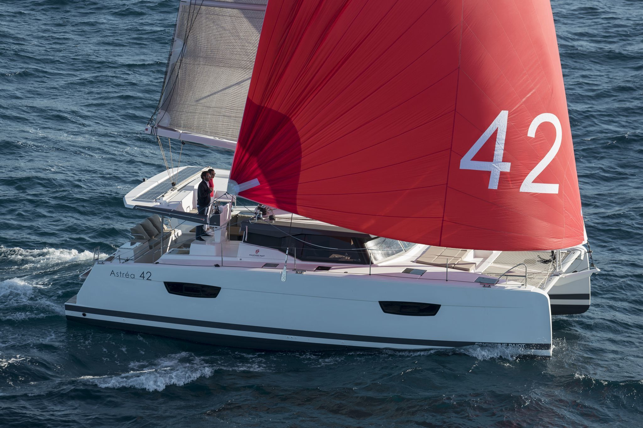 Astréa 42 (Sissy- A/C & Watermaker & Generator & Electrical Platform - 4+2 Cabins/4 Heads)  - 13