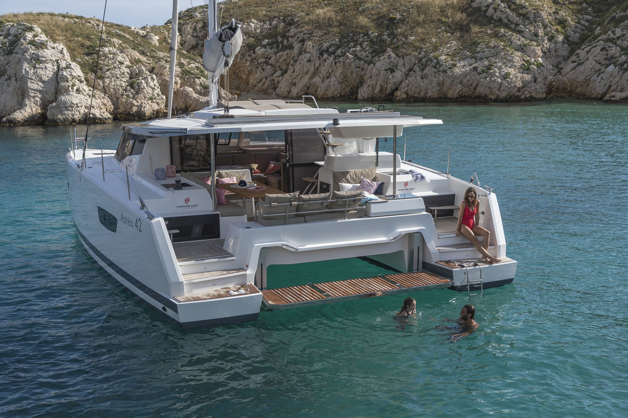Astréa 42 (Sissy- A/C & Watermaker & Generator & Electrical Platform - 4+2 Cabins/4 Heads)  - 11