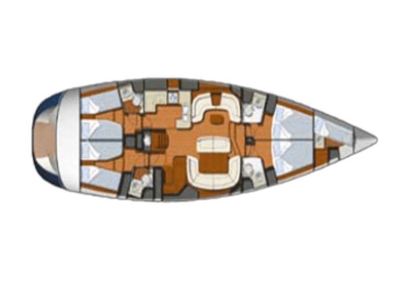 Sun Odyssey 54DS (HENK) Plan image - 8