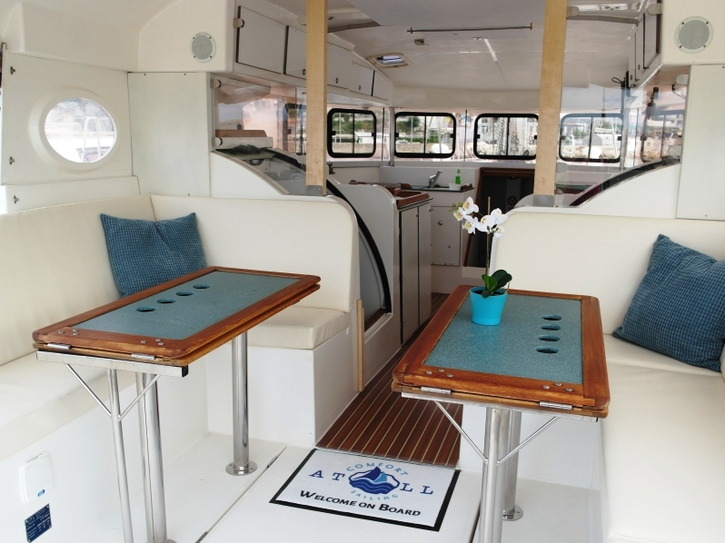 Dufour Atoll 6 (The Big One Two) Interior image - 3