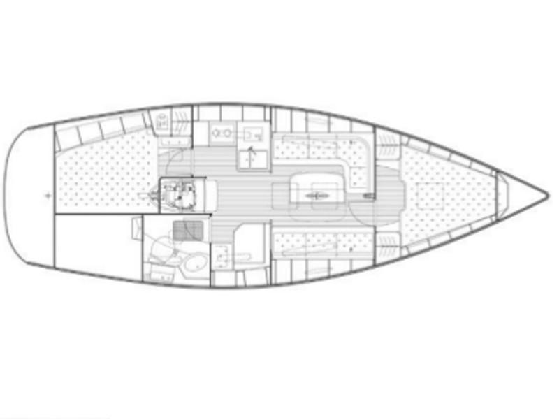 Bavaria 34 Cruiser (Skippy) Plan image - 4