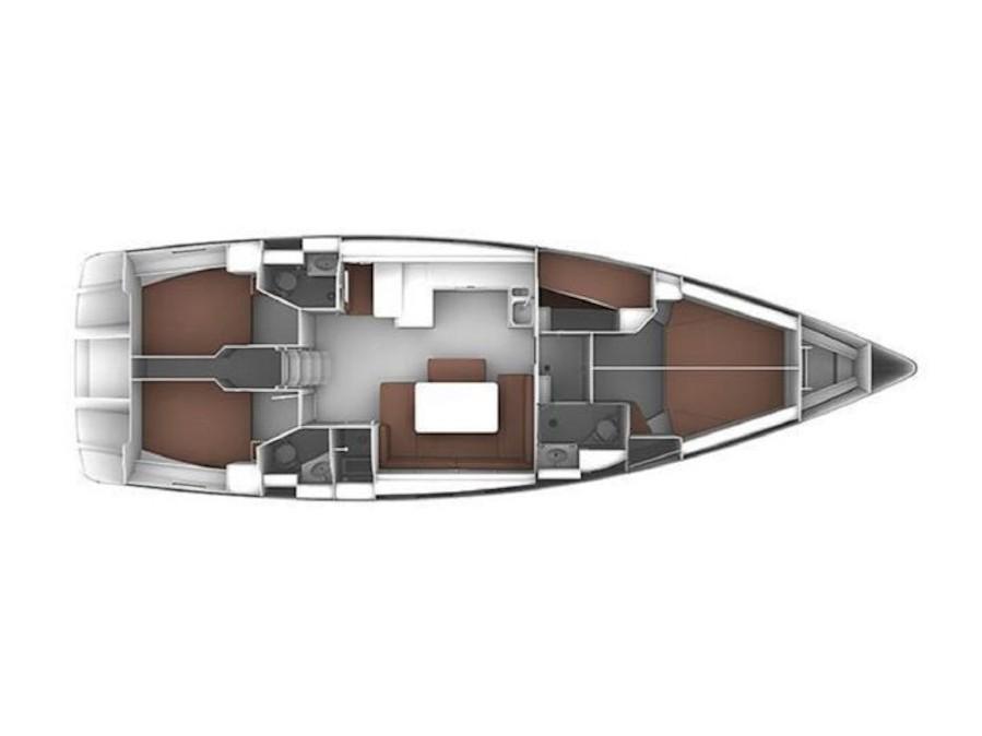 Bavaria Cruiser 51 (Ivolga) Plan image - 2