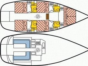 Dufour Atoll 6 (Nephele) Plan image - 1