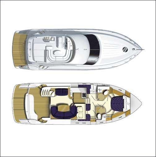 Princess 45 (Captain Nikos) Plan image - 1