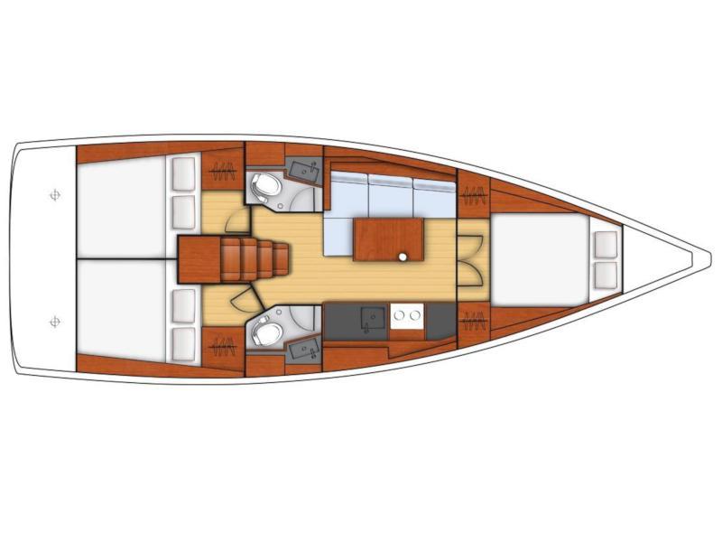 Oceanis 38.1 (Foxy) Plan image - 7