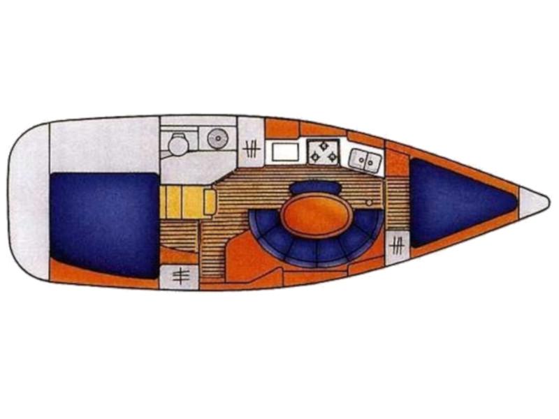 Sun Odyssey 34 (Pelican Pete) Plan image - 5