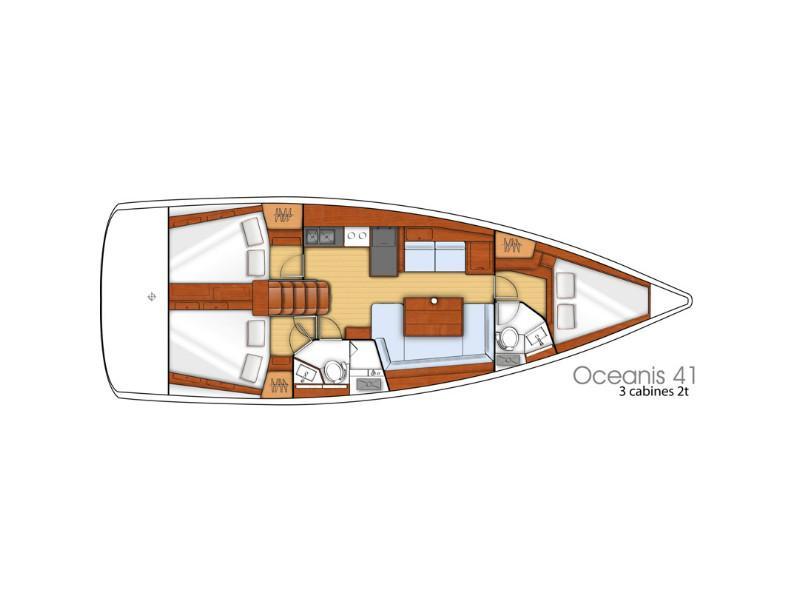 Oceanis 41 (Bolero (Refit 2020)) Plan image - 12