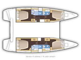 Lagoon 42 (AIR WAVE) Plan image - 1