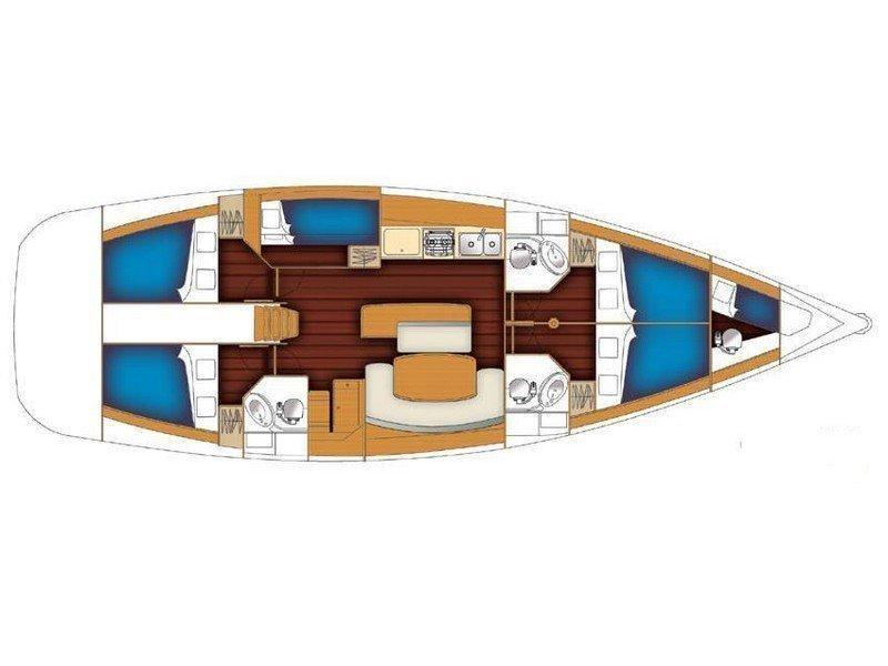 Oceanis 50 (Ageras) Plan image - 2