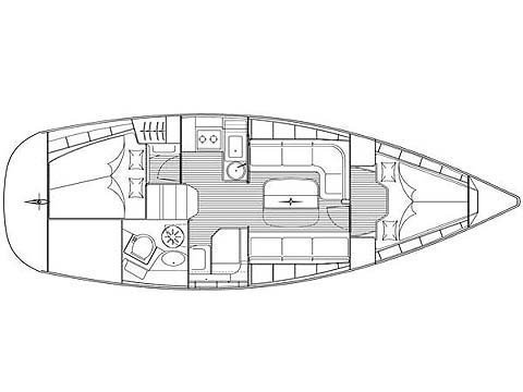BAVARIA 33 C  (FRANA) Plan image - 11