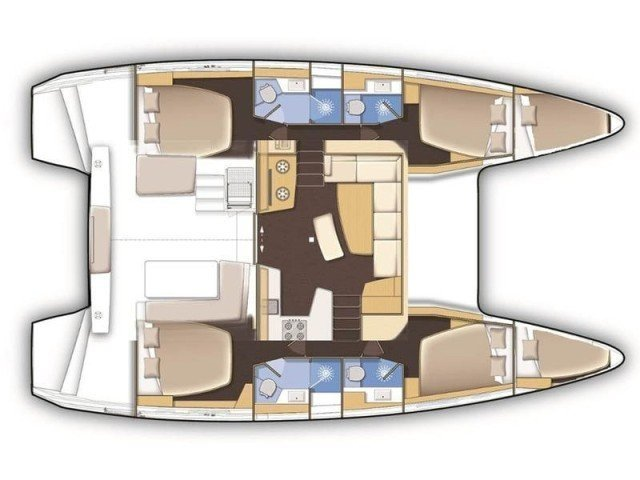 Lagoon 42 (L42-20-AL) Plan image - 2